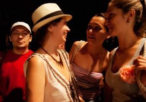 С организаторами фестиваля Мариной Дарницкой и Мариной Хмеловоской